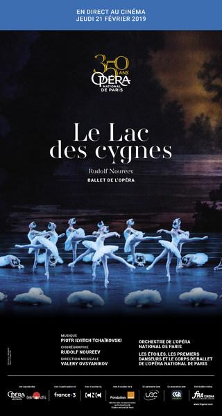 LE LAC DES CYGNES (BALLET) de Rudolf NOUREEV
